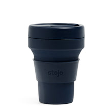 Load image into Gallery viewer, Stojo Collapsible Pocket Cup 12oz Demin