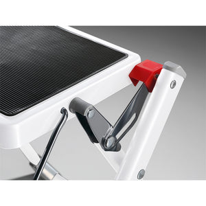 Hailo MK60 2 step stool Close Up side view