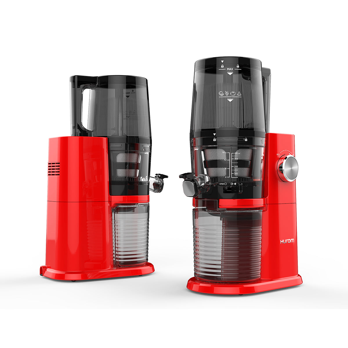 Hurom HI-3400 Premium Series Vivid Red