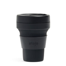 Load image into Gallery viewer, Stojo Collapsible Pocket Cup 12oz Ink