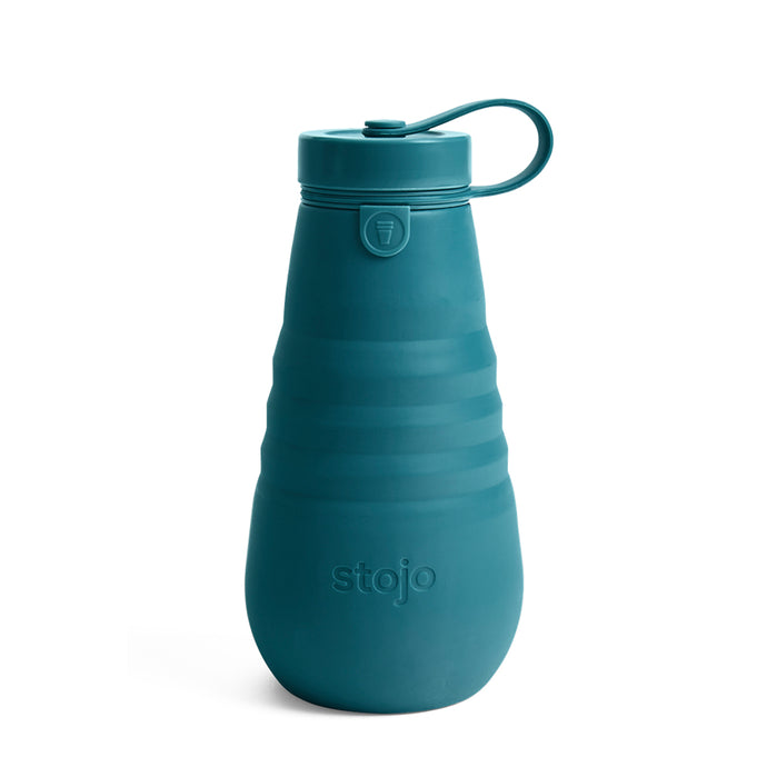 Stojo Collapsible Water Bottle 20oz Lagoon