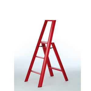 3 Step Household Ladder red