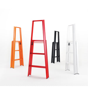 3 Step Household Ladder assortment folded