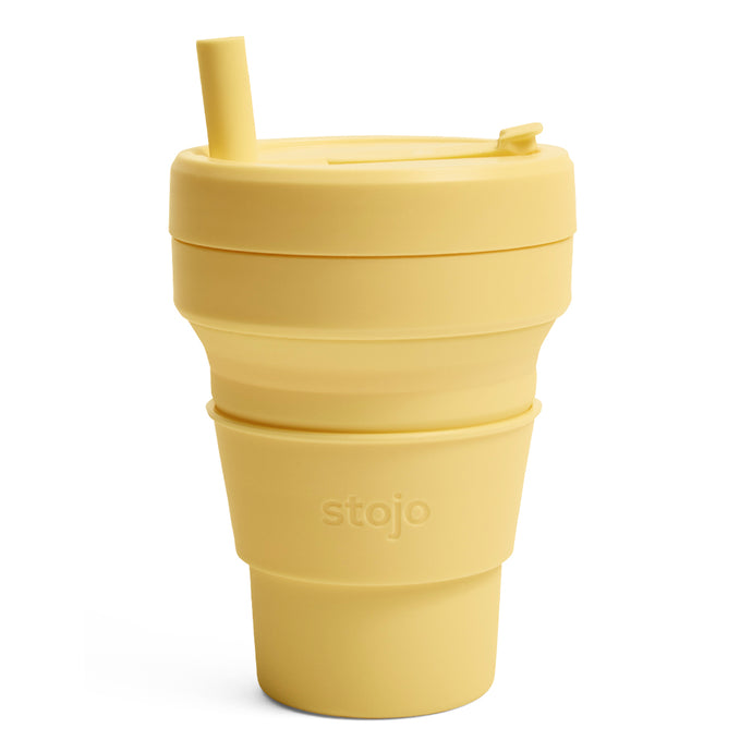 Stojo Biggie Collapsible cup 16oz Mimosa