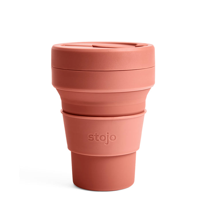 Stojo Collapsible Pocket Cup 12oz Nutmeg