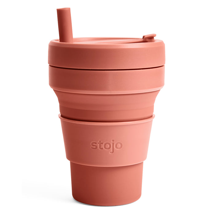 Stojo Biggie Collapsible cup 16oz Nutmeg