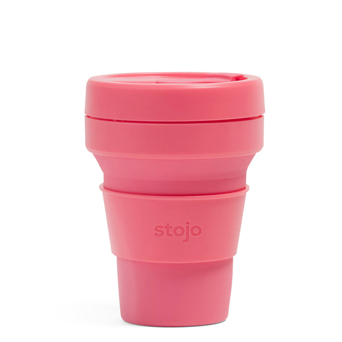 Stojo Collapsible Pocket Cup 12oz Peony