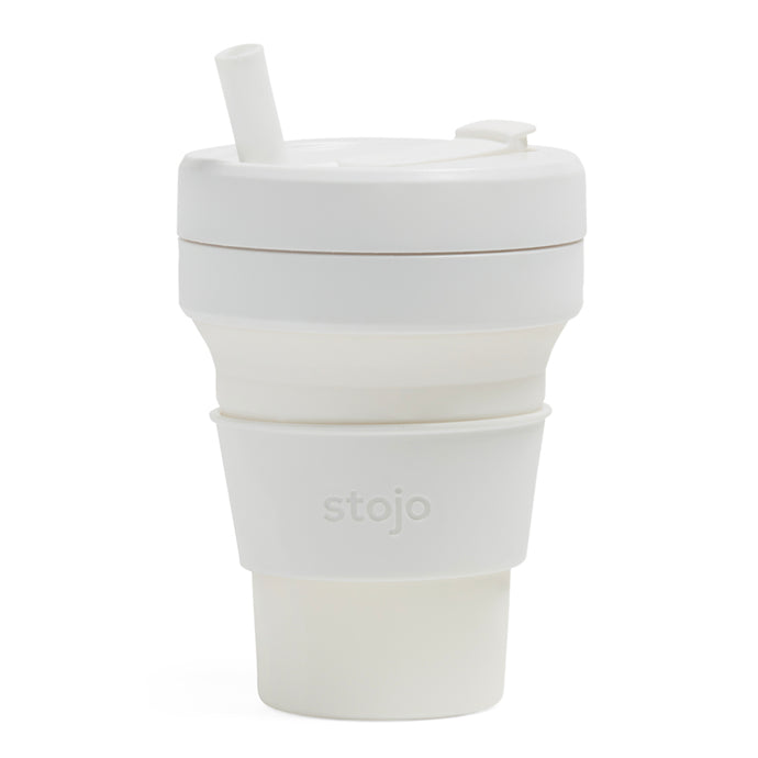 Stojo Biggie Collapsible cup 16oz Quartz