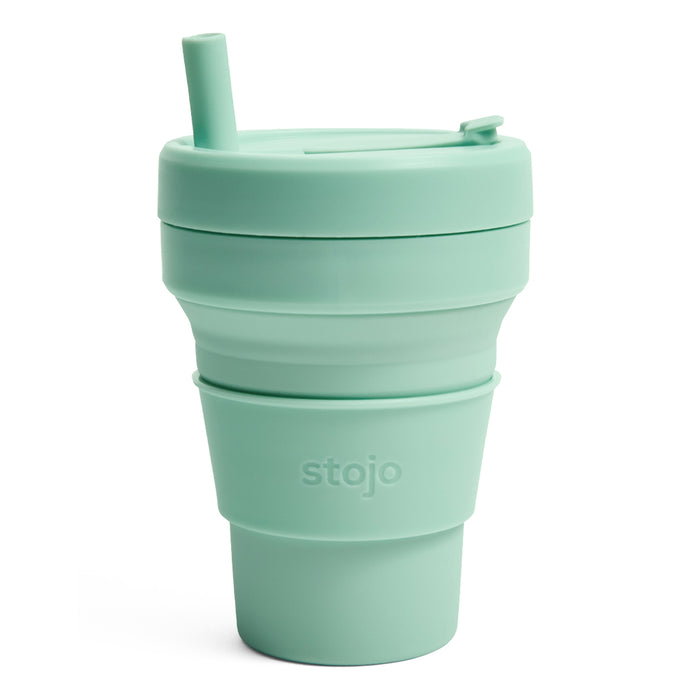 Stojo Biggie Collapsible cup 16oz Seaform