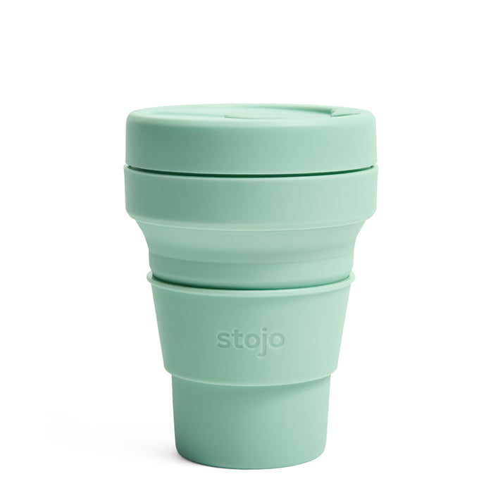 Stojo Collapsible Pocket Cup 12oz Seaform