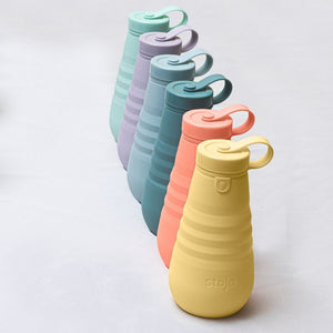 Stojo Collapsible Water Bottle 20oz Cashmere