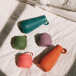 Stojo Collapsible Water Bottle 20oz Sage