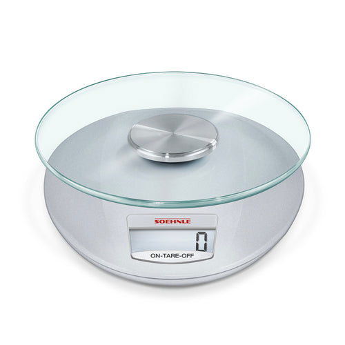 Kitchen Scale Roma Silver