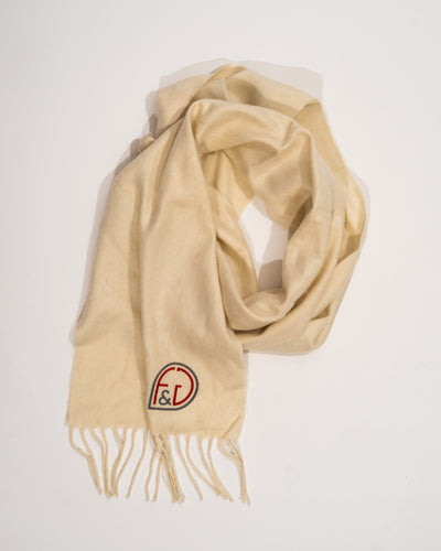 Fame and glamour logo Scarf