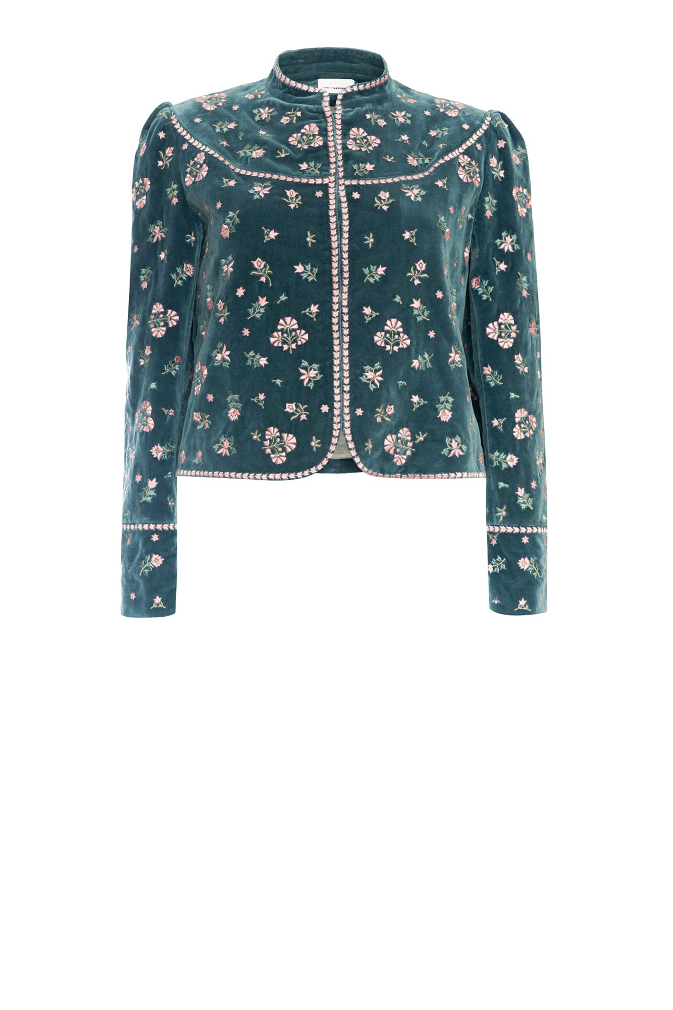 Phoebe Jacket Teal