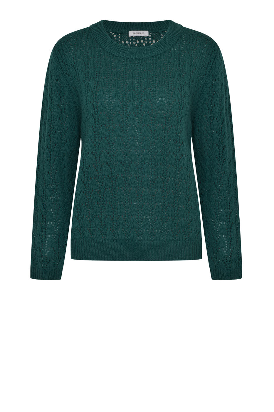 Lattice Jumper Green