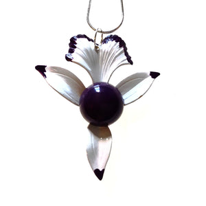 Enamelled Flower Necklace