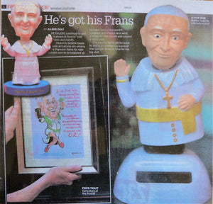 "2018: ""HE'S GOT HIS FRANS"". Irish Daily Mirror. 23rd July, 2018"