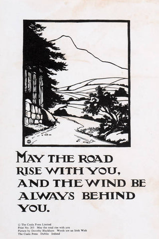 "Cuala Press ""May the Road Rise with You"""