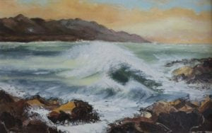 "Annie Moore ""Rough Sea, County Cork"""