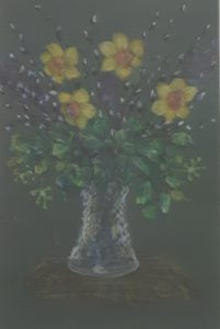 "Annie Moore ""Vase of Daffodils"""