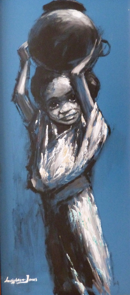 "Barry Leighton Jones ""Child with water jug"""