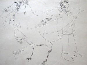"Pieter Sluis ""Bird Man"""