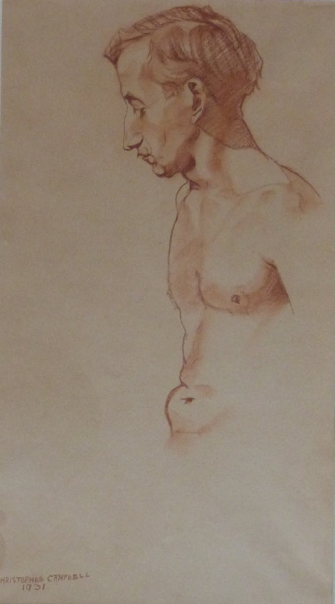 "Christopher Campbell ""Male Nude Study"""