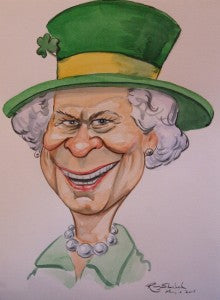 "Ray Sherlock ""Queen Elizabeth II visits Ireland"""