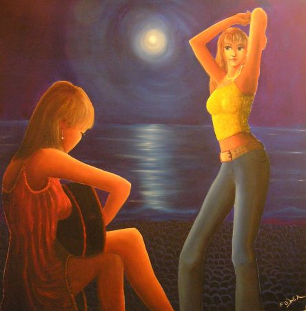 "Frank O'Dea ""Dancing in the Moonlight"""