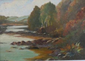 "Deirdre O'Donnell ""Liss Cottage, Castlecove, Co. Kerry"""