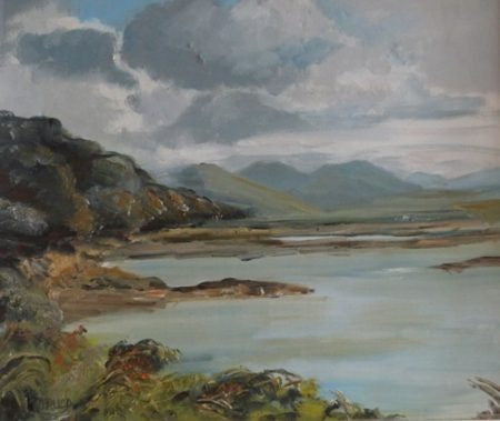 "Dorothy Rudd ""West of Ireland Lakeside"""
