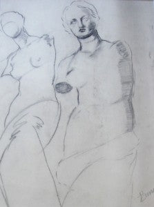 "Frances Bunch Moran ""Figurative Sketch"""
