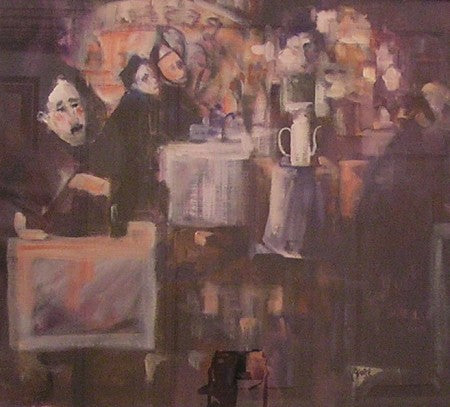"George Dunne ""Cafe Interior"""