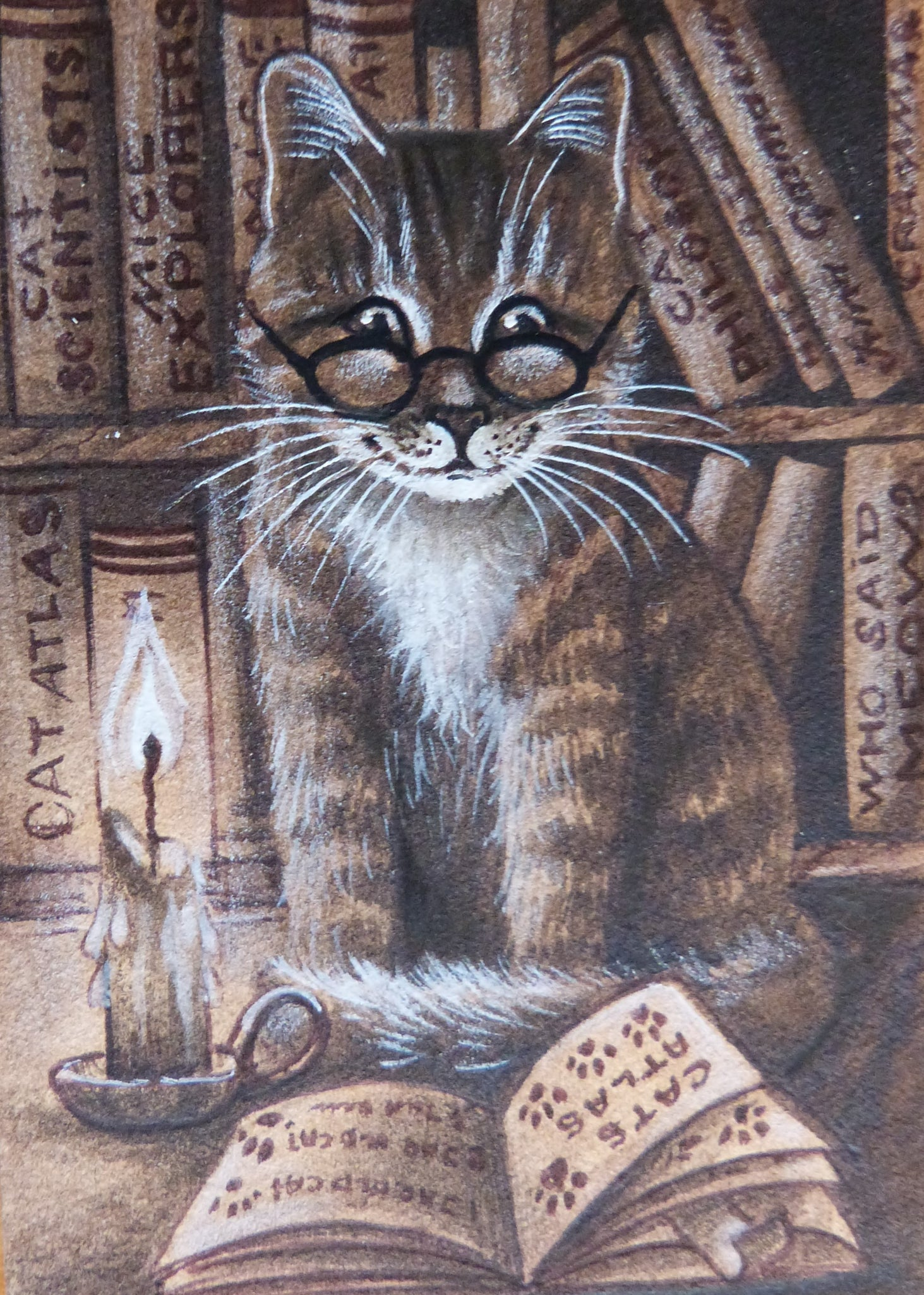 "Minature - Irina Garmashova Cawton ""Cat 4"""