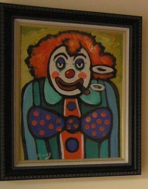 "J P Rooney ""Twisty the Clown"""