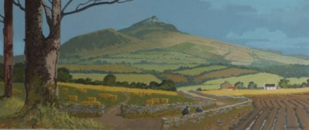 "John Francis Skelton ""Just a Moment, Sugar Loaf, Co. Wicklow"""