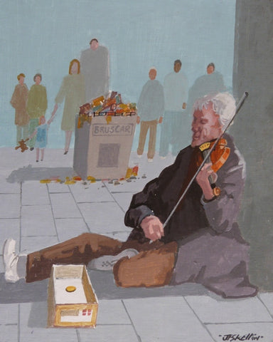 "John Francis Skelton ""A Tale of Two Boxes, Busker and Bruscar"""
