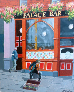 "John Francis Skelton ""Music and Pleasure, Palace Bar, Dublin"""