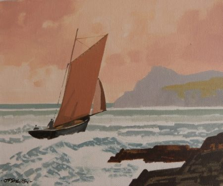 "John Francis Skelton ""New World Gateway, Sybil Head, Kerry"""