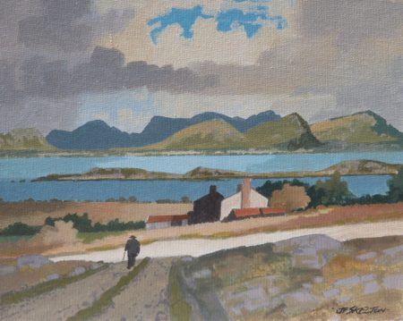 "John Francis Skelton ""Round the Corner, Twelve Bens, Connemara"""