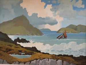 "John Francis Skelton ""Turquoise Sound, The Blaskets"""