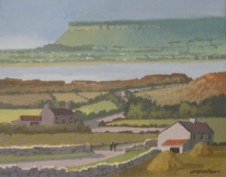 "John Francis Skelton ""Celtic Light, Benbulben, Sligo"""