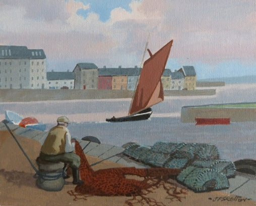 "John Francis Skelton ""One Days Work, Cladagh, Galway"""