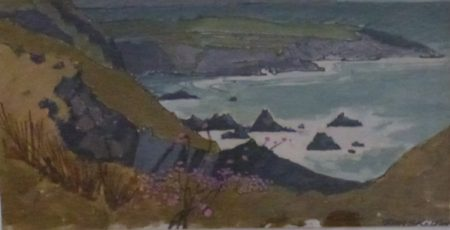 "John Skelton ""Irish Coastal Scene"""