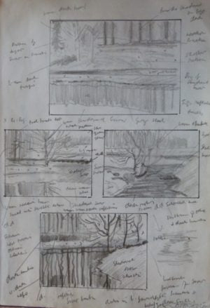 "John Skelton ""Park Sketches"""