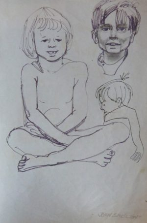 "John Skelton ""Study of Children"""