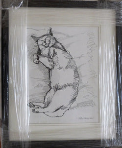 "John Skelton ""Sleeping Cat"""