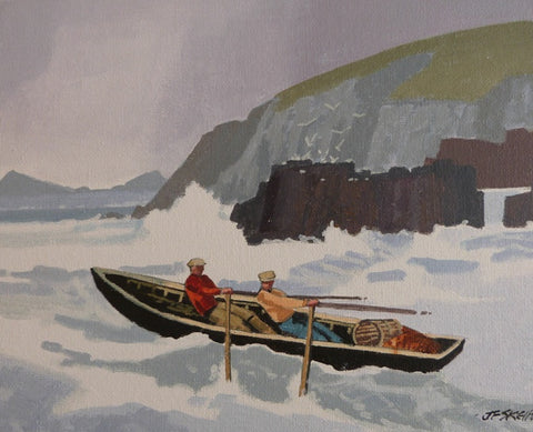 "John Francis Skelton ""Atlantic Break, Slea Head, County Kerry"""