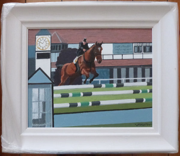 "John Francis Skelton  ""Getting There"". Royal Dublin Horse Show. RDS. Dublin."